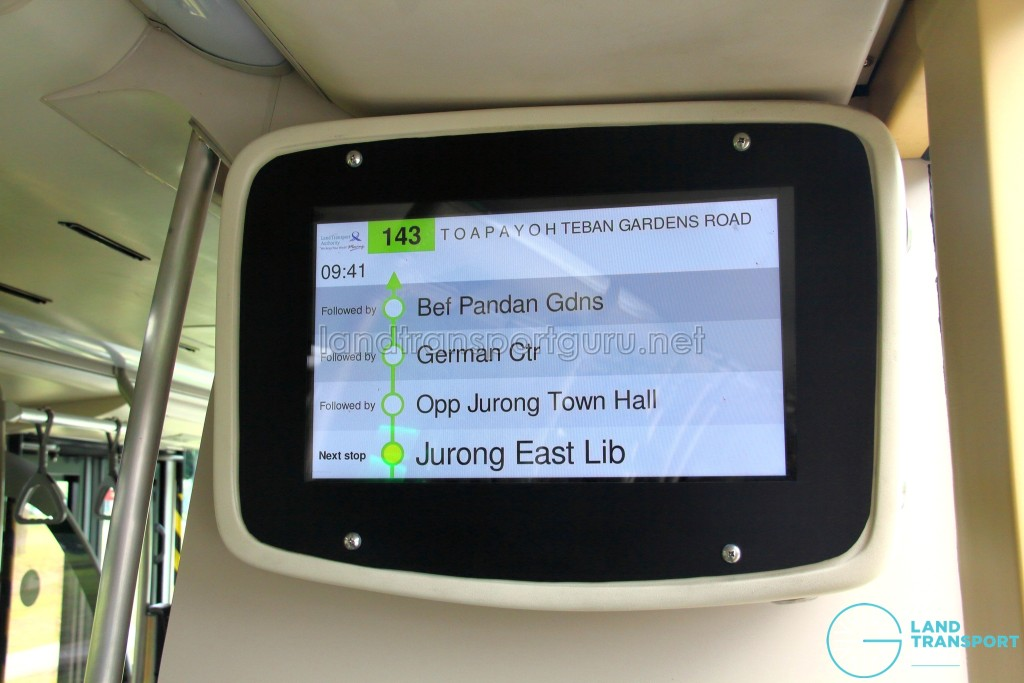 SG5999Z - Operational PIDS in March 2017