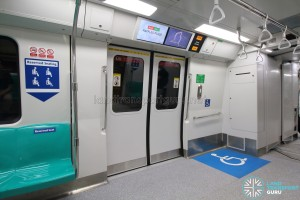 Kawasaki Heavy Industries & CRRC Qingdao Sifang C151B - Wheelchair Bay