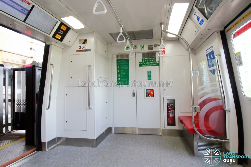 Kawasaki Heavy Industries & CRRC Qingdao Sifang C151B - End section, with Emergency Exit and Sigalling equipment housing