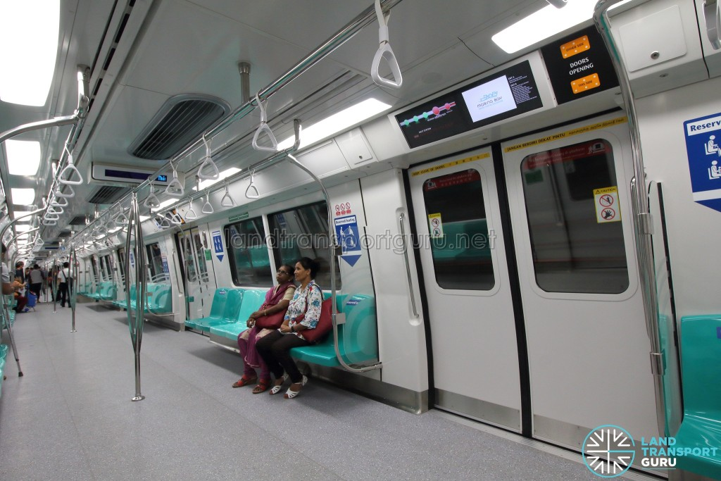 Kawasaki Heavy Industries & CRRC Qingdao Sifang C151B - Cabin Interior