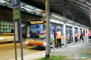 Tanah Merah – Changi Airport Parallel Bus Service: Tanah Merah Boarding Stop