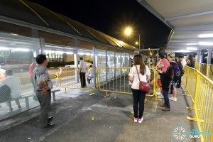 Tanah Merah – Changi Airport Parallel Bus Service: Tanah Merah Boarding Queue