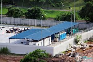 Ulu Pandan Bus Depot - Ancillary offices, toilets and electrical generators