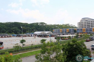 Woodlands Bus Park - Partial overview #2