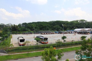 Woodlands Bus Park - Partial overview #1