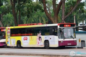 SBS Transit Volvo B10M Mark IV Strider (SBS2630U) - Service 43