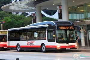 SMRT MAN NL323F A22 (SMB3088M) - Service 972
