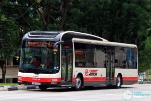 SMRT MAN NL323F A22 (SMB3091C) - Service 972