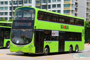 Go-Ahead Volvo B9TL Wright (SBS3321E) - Service 118