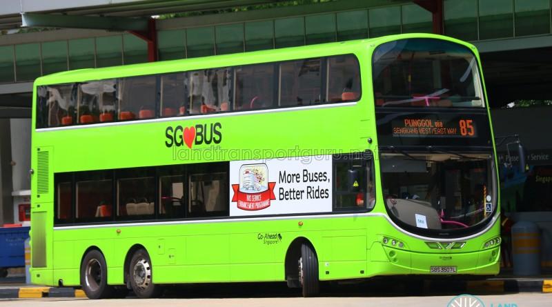 Go-Ahead Volvo B9TL Wright (SBS3507L) - Service 85