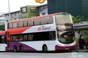 SBST Volvo B9TL Wright (SBS3820G) - DTL Shuttle Service towards Chinatown