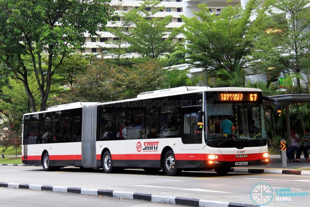 SMRT MAN A24 (SMB388S) - Service 67