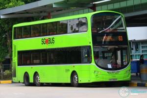 Go-Ahead Volvo B9TL Wright (SBS3968P) - Service 83