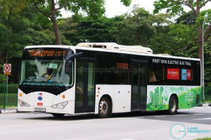Go-Ahead BYD K9 Electric Bus (SG4001J) - Service 15