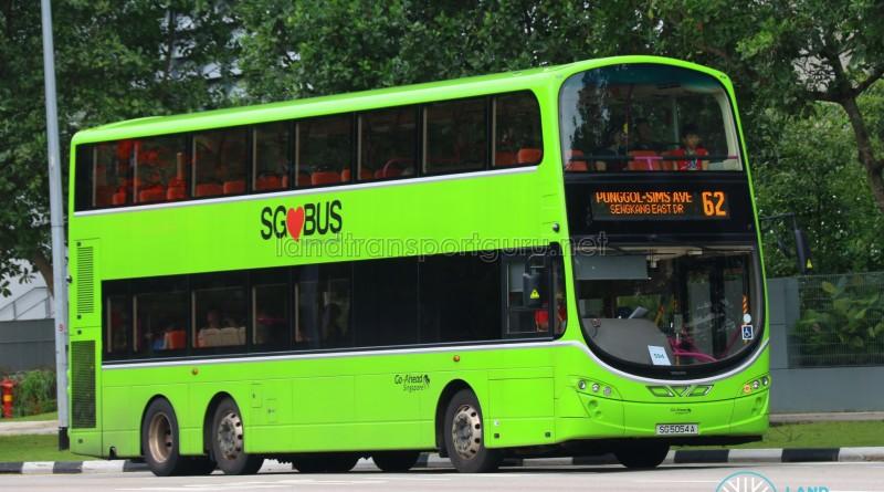Go-Ahead Volvo B9TL Wright (SG5054A) - Service 62