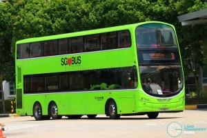 Go-Ahead Volvo B9TL Wright (SG5081X) - Service 3