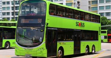SBS Transit Volvo B9TL Wright (SG5445E) - Service 50
