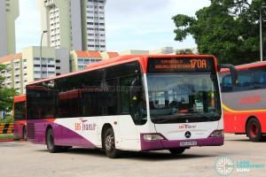 SBS Transit Mercedes-Benz Citaro (SBS6136D) - Service 170A