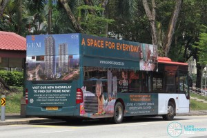 SBS Transit Mercedes-Benz Citaro (SBS6271X) with 2D advertising