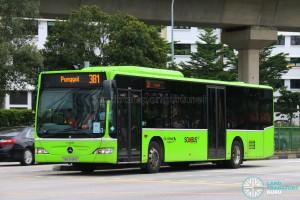Go-Ahead Mercedes-Benz Citaro (SBS6481G) - Service 381
