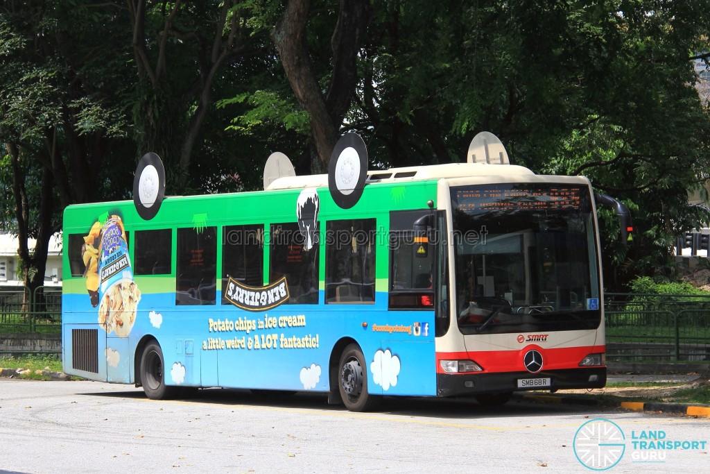 SMRT Buses Mercedes-Benz OC500LE (SMB68R) - Service 985