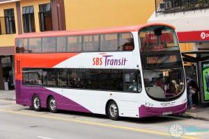 SBS Transit Volvo B9TL Wright (SBS7500D) - Service 154