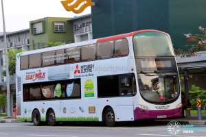 SBST Volvo B9TL Wright (SBS7501B) - DTL Shuttle Service towards Chinatown