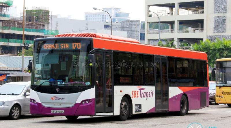 SBS Transit Scania K230UB (SBS8408G) - Service 170X