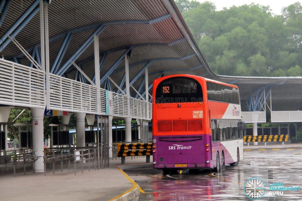 Service 192 at Tuas Bus Terminal