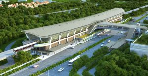 Canberra MRT Station - Artists Impression