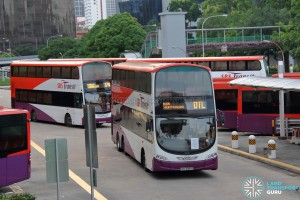 SBST Volvo B9TL Wright (SBS3089B) - DTL Shuttle Service at New Bridge Rd Terminal