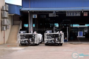 Gemilang Coachworks - MAN A95 chassis