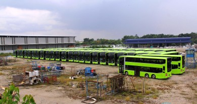 Gemilang Coachworks - Assembled MAN A95 Facelift buses in storage, awaiting delivery to Singapore