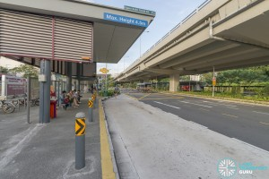 Hillview MRT Station Bus Stop