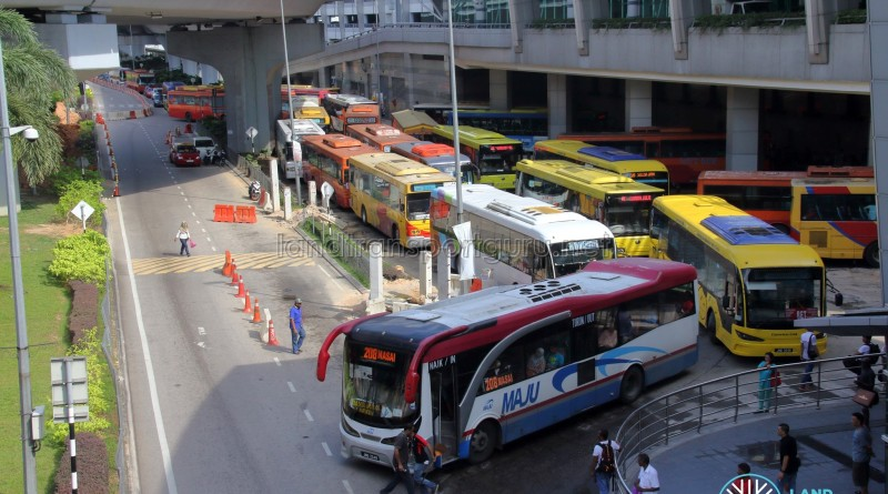 JB Sentral Bus Terminal (May 2017)