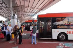 Larkin Bus Terminal - Queue for Service 170