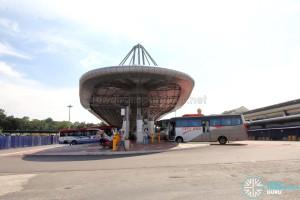 Larkin Bus Terminal - New Passenger concourse, with adjacent berths under construction/renovation