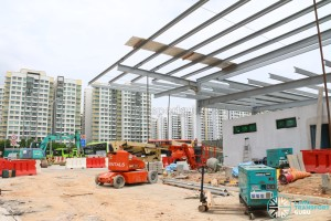 New Annex at Punggol Bus Interchange (May 2017)