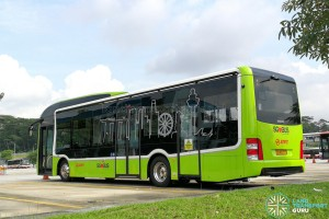 SG4002G in Woodlands Bus Park: Rear nearside