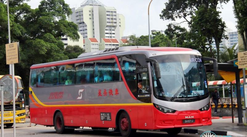 MAN SU283F (A91) (SH107J) - Singapore-Johore Express
