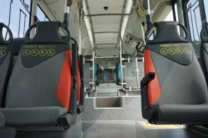 SMRT 3 Door MAN A22 interior - SMRT Facebook page