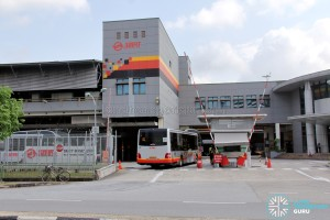 Woodlands Bus Depot - Main entrance along Woodlands Industrial Park E9