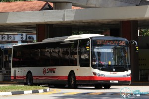 Bus 945 - SMRT Zhongtong LCK6121GHEV (SMB137A)