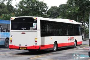 SMRT MAN NL323F A22 (MCV) (SMB138Y) - Rear