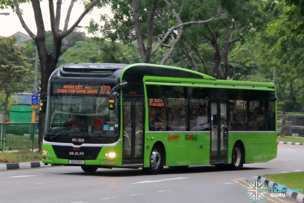 SMRT Buses MAN A22 (SG1712K) - Service 172