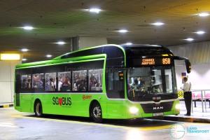 SMRT Buses MAN A22 (SG1721J) - Service 858