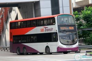SBS Transit Volvo B9TL Wright (SBS3061E) - Service 182M