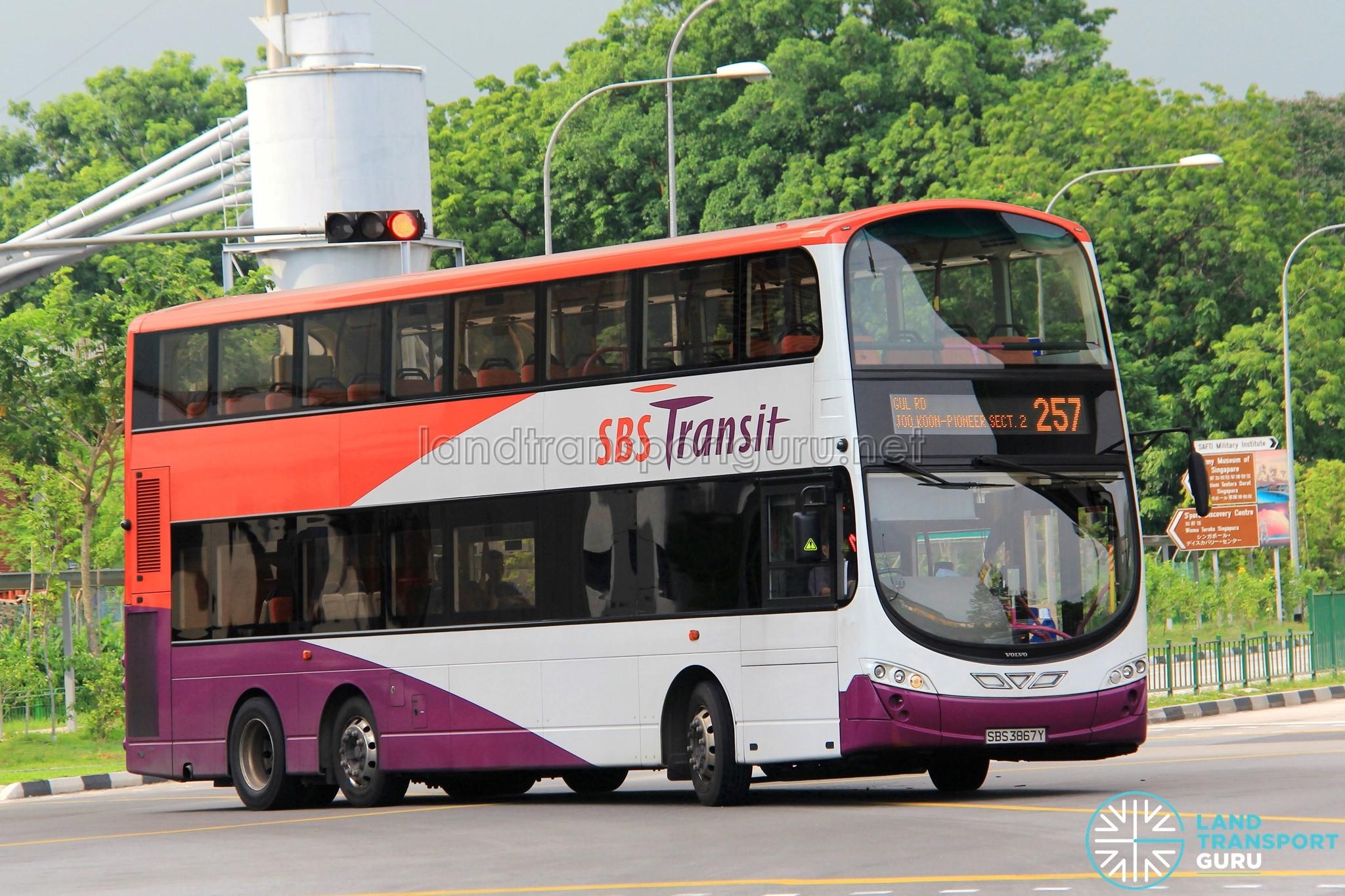 SBS Transit Bus Service 257 | Land Transport Guru