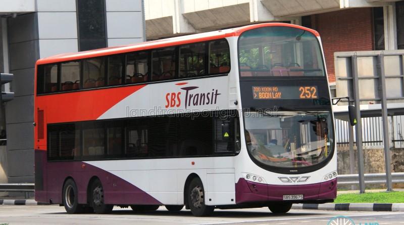 SBS Transit Volvo B9TL Wright (SBS3967S) - Service 252