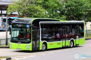 Maiden Trip of MAN Lion's City SD 3-Door (SG4002G)